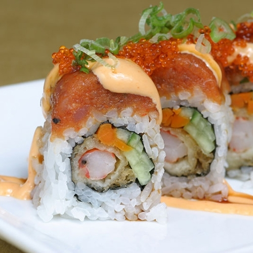 Spicy Scallop Dragon Roll